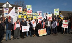 Bedroom Tax demonstration